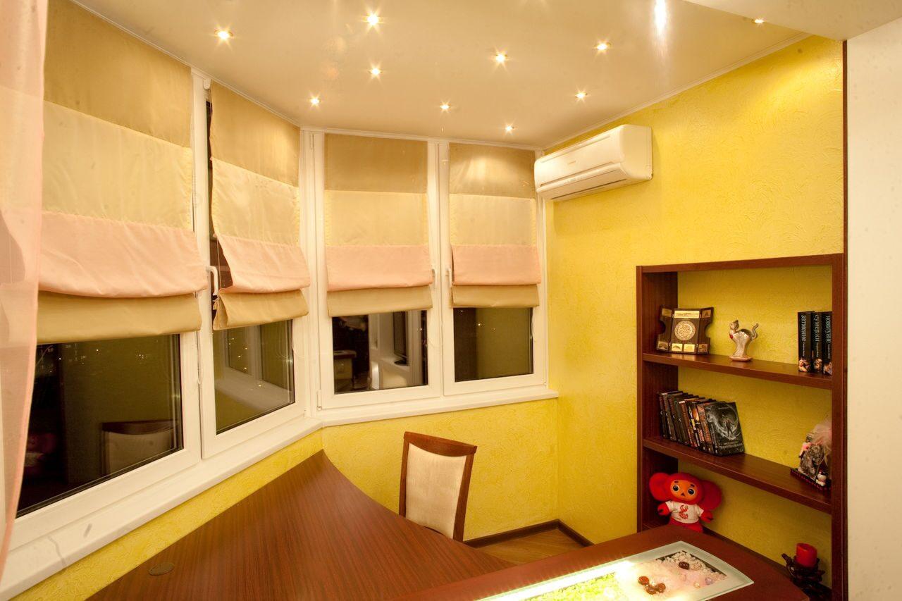 Объединение лоджии с комнатой или кухней (16 фото), правила .