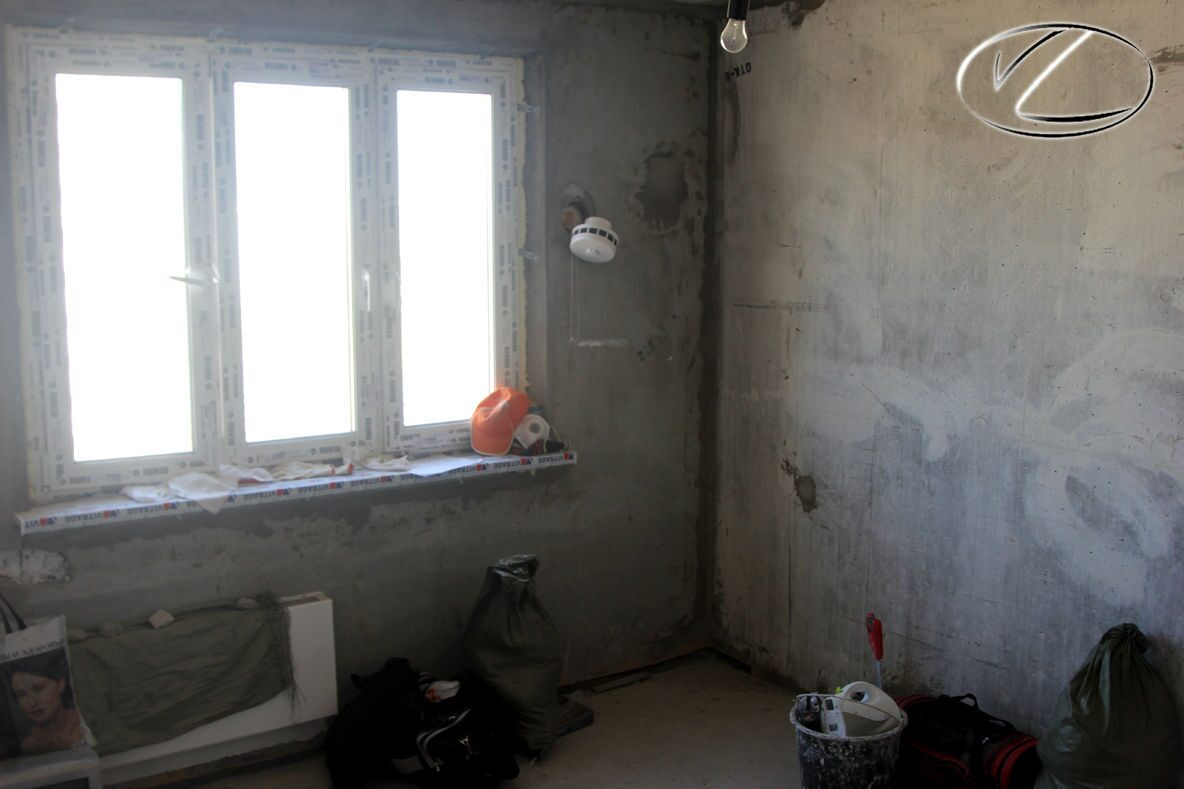 Спальня фото. капитальный ремонт квартиры по дизайн проекту .